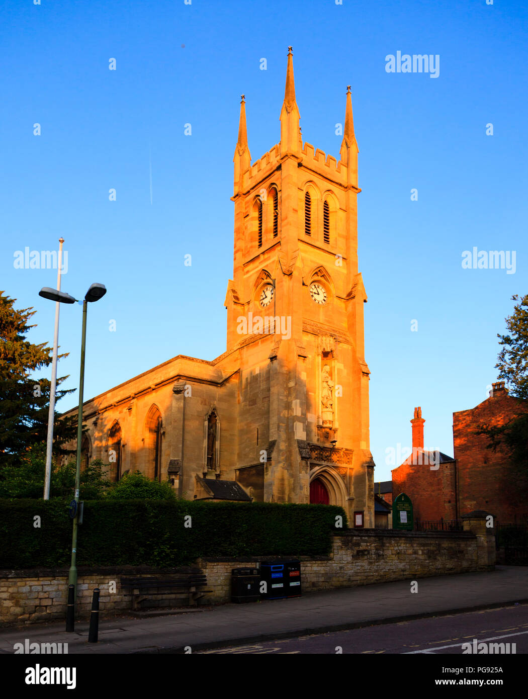 St John the Evangelist church in Banbury, Oxfordshire, UK - Stock Image