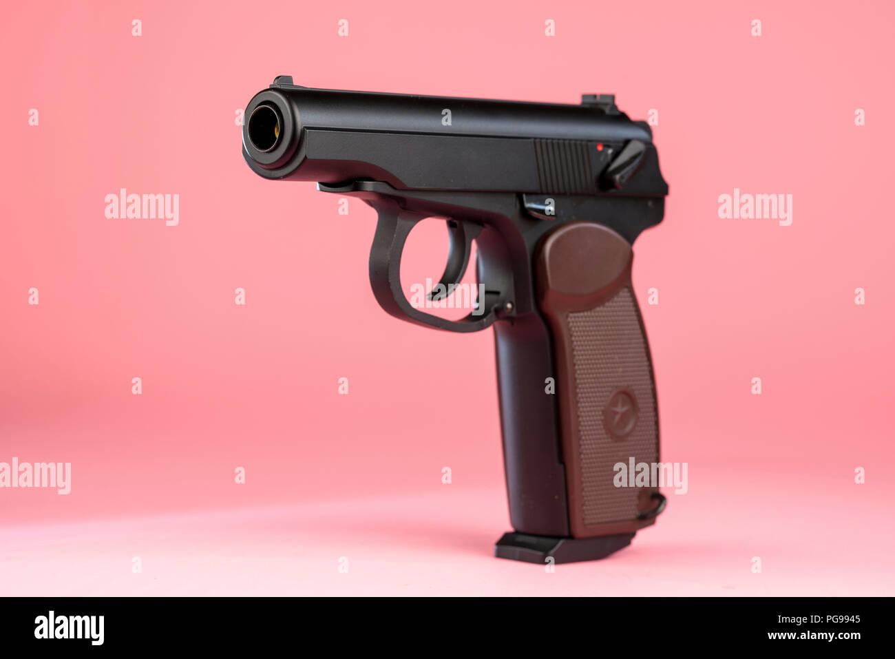 Handgun. - Stock Image