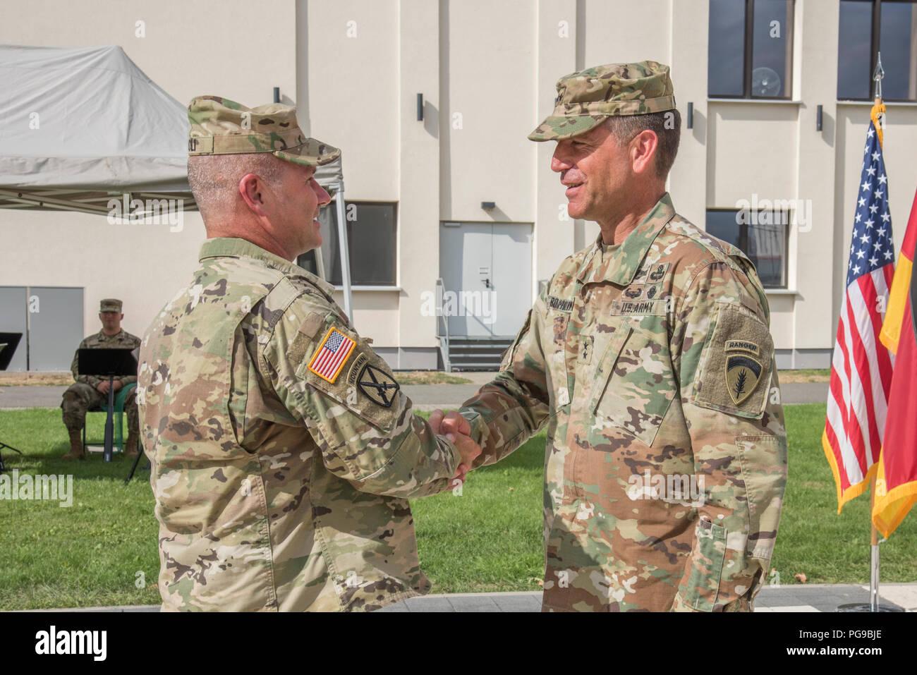 Lt Gen Christopher G Cavoli Left Commander Of United States