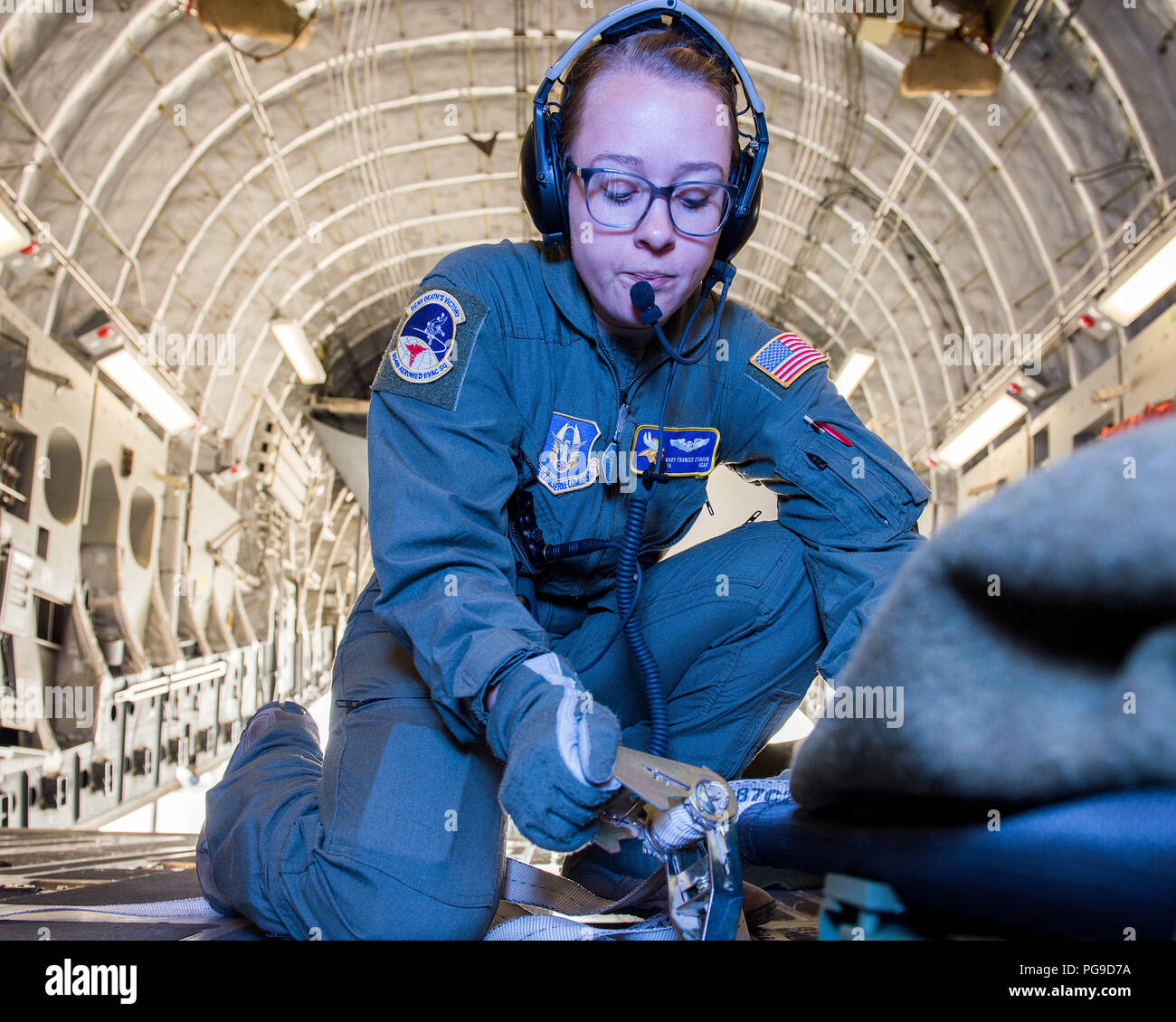 U S  Air Force Senior Airman Mary Stinson, 934th Aeromedical