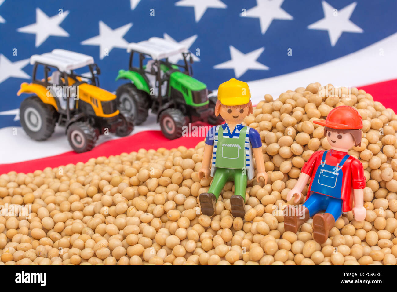Trade soybean options