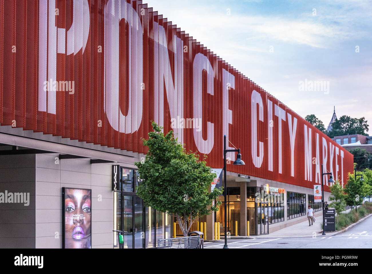 Ponce City Market in Atlanta, Georgia. (USA) - Stock Image