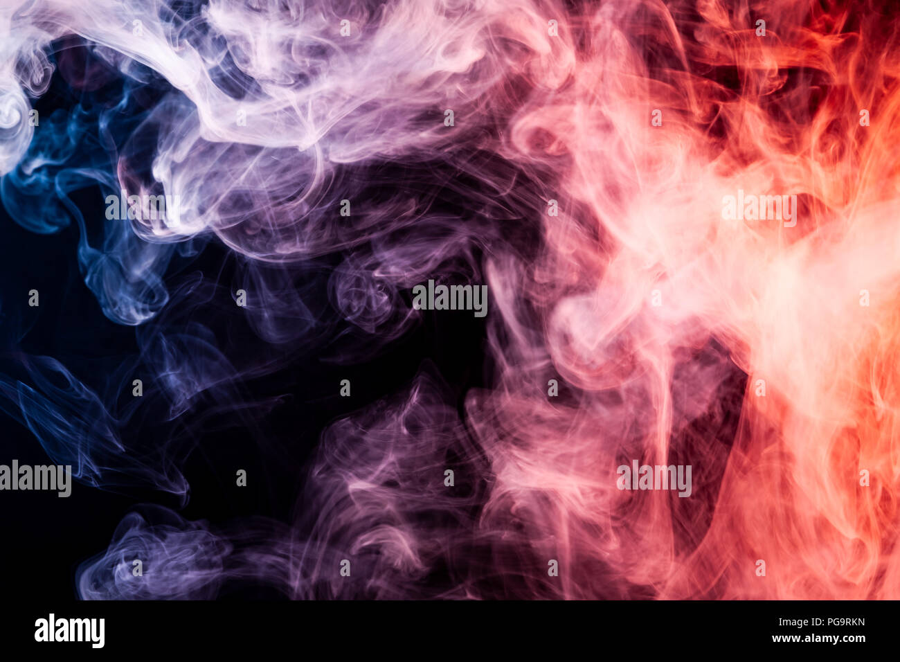 colorful red blue and white smoke on a black isolated background background from the smoke of vape stock photo alamy https www alamy com colorful redblue and white smoke on a black isolated background background from the smoke of vape image216575065 html