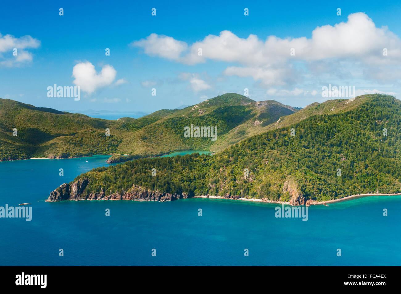 Beautiful Hook Island in the famous Whitsundays. - Stock Image