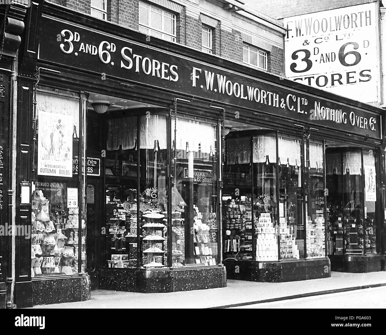 Woolworths Black and White Stock Photos & Images - Alamy