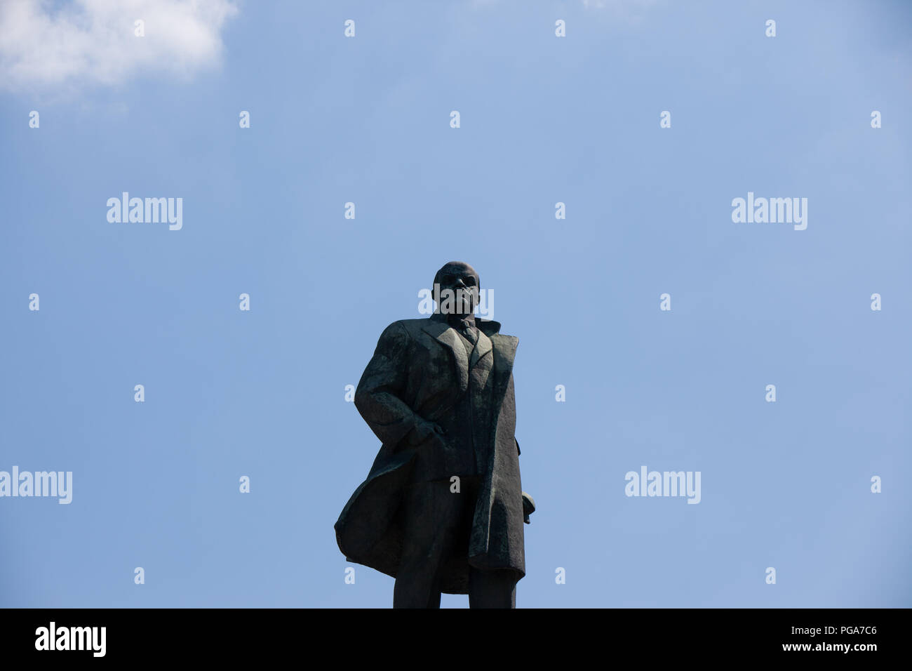 Lenin Statue from Moscow, Russia - Stock Image