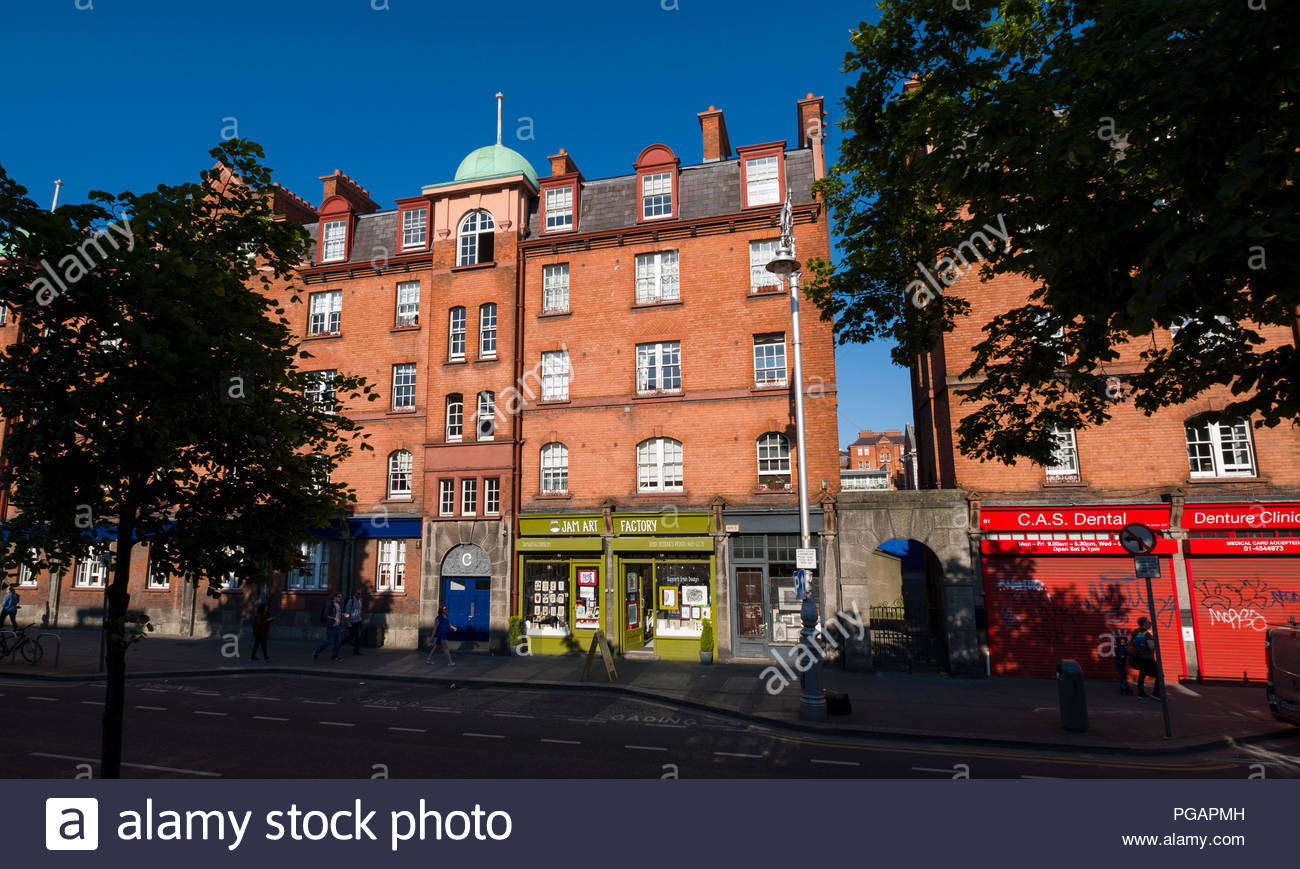 Jam Art Factory, 64 Patrick Street, Wood Quay, Dublin 8, Dublin, Leinster, Ireland - Stock Image
