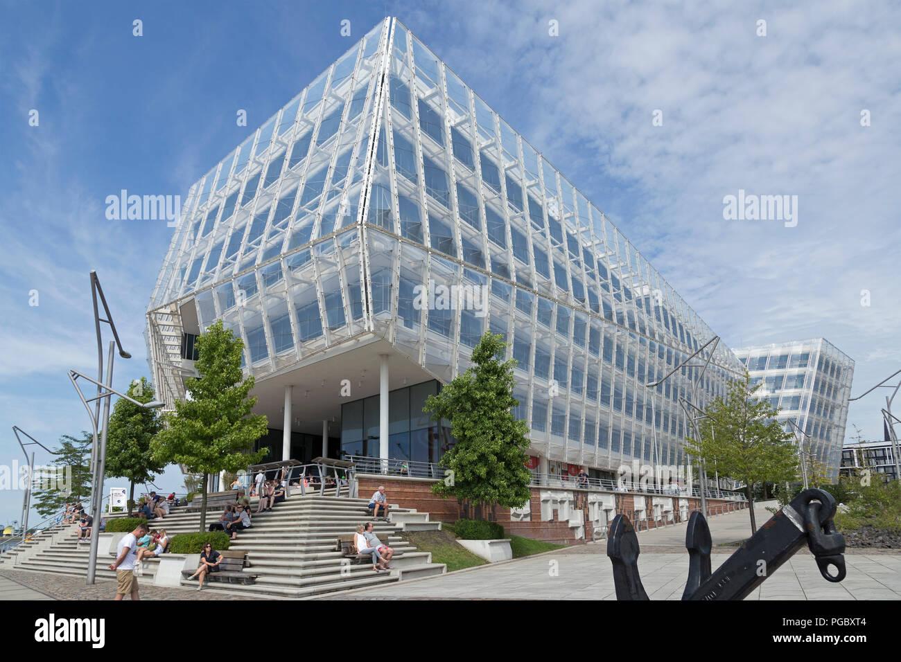 Unilever House, HafenCity (Harbour City), Hamburg, Germany - Stock Image