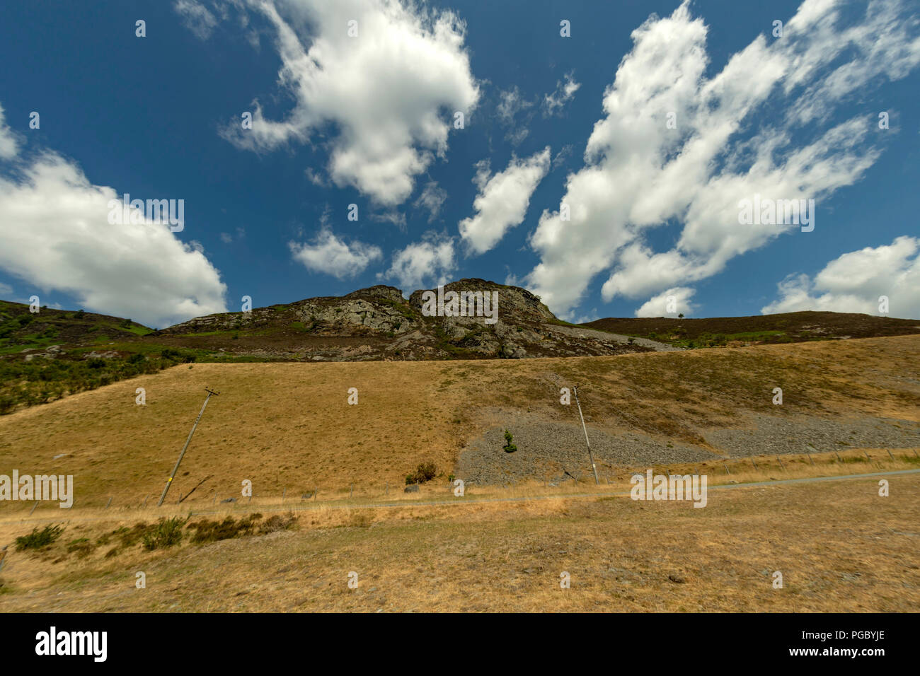 Elan Valley, stunning landscape and scenery - Stock Image