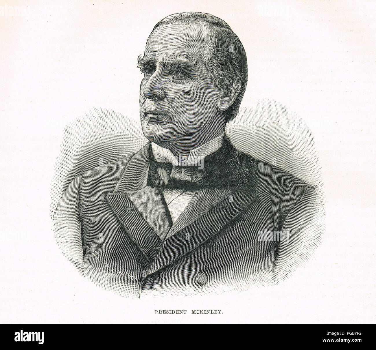 William McKinley, 25th President of the United States - Stock Image