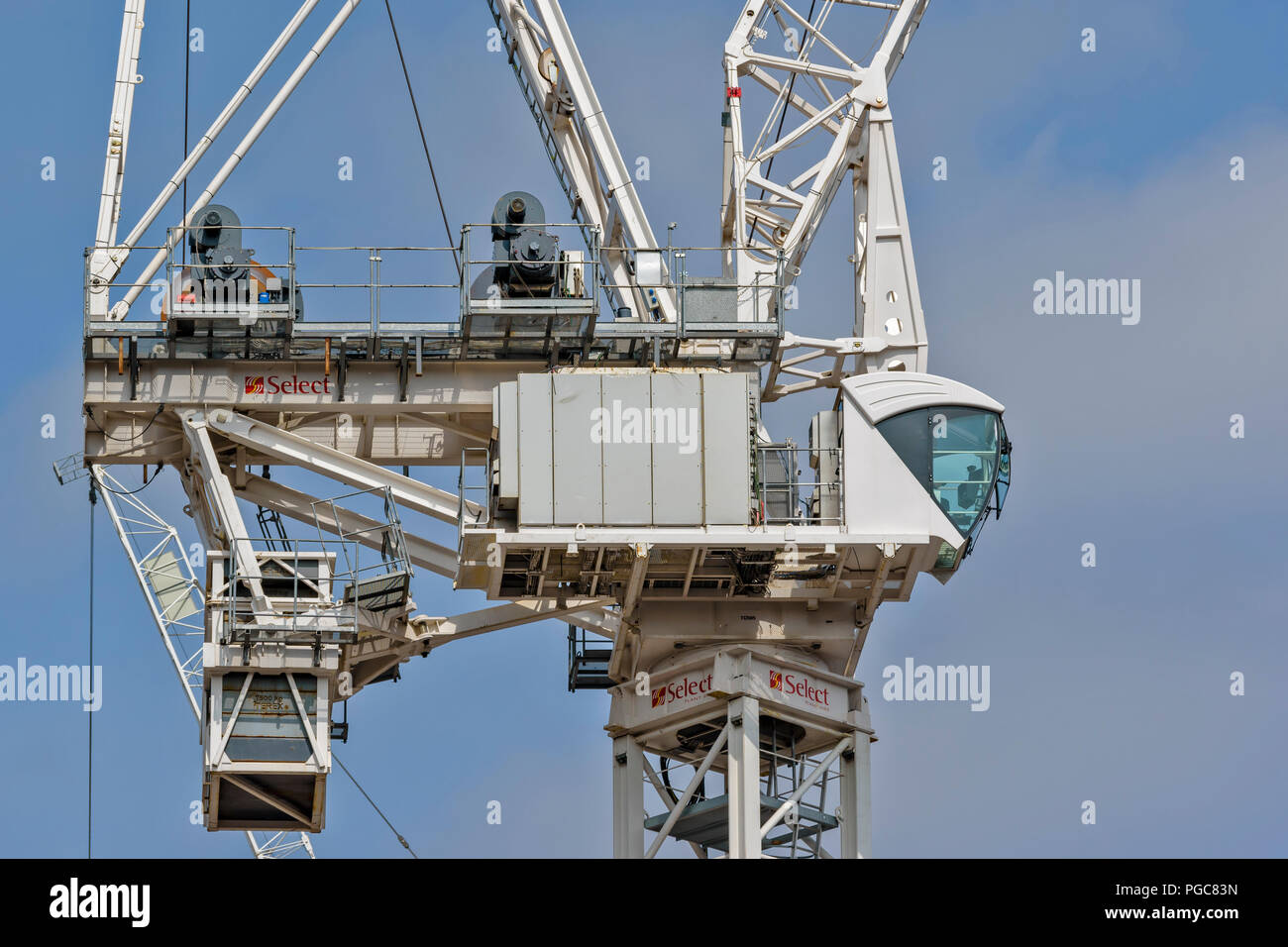 tower crane cab stock photos  u0026 tower crane cab stock images