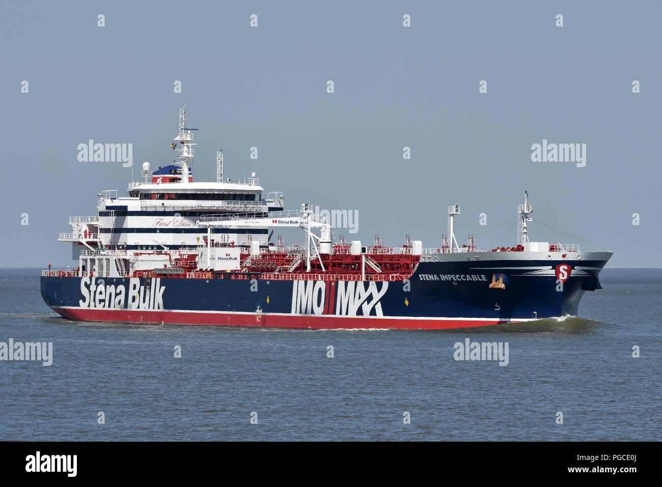 Stena Impeccable off CuxhavenStock Photo