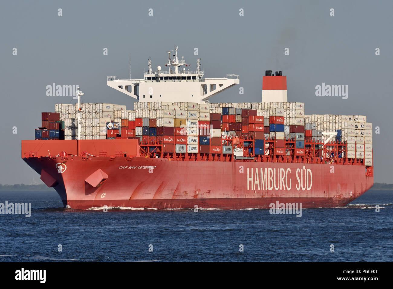 Cap San Artemissio Stock Photo
