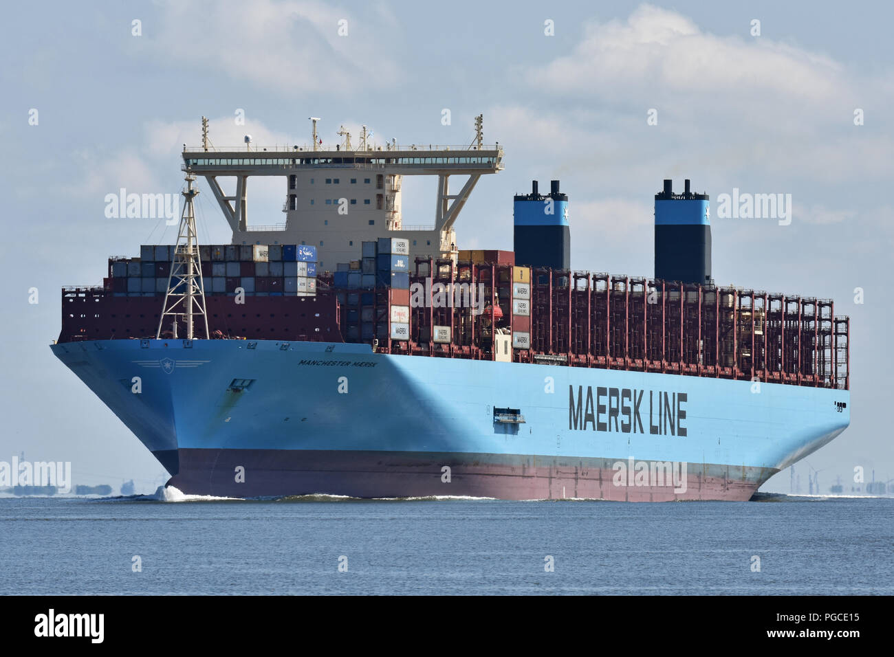 Manchester Maersk Stock Photo