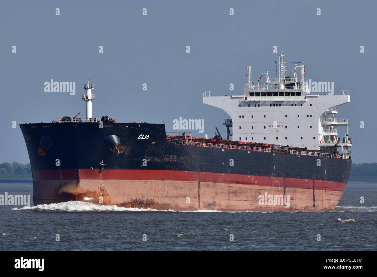 Bulk-Carrier Clia - Stock Image