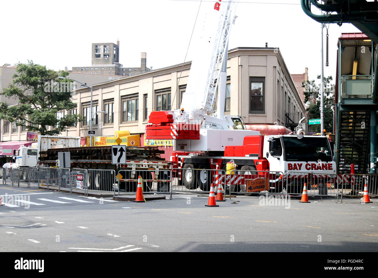 Nyc Transit Bus In On Stock Photos & Nyc Transit Bus In On