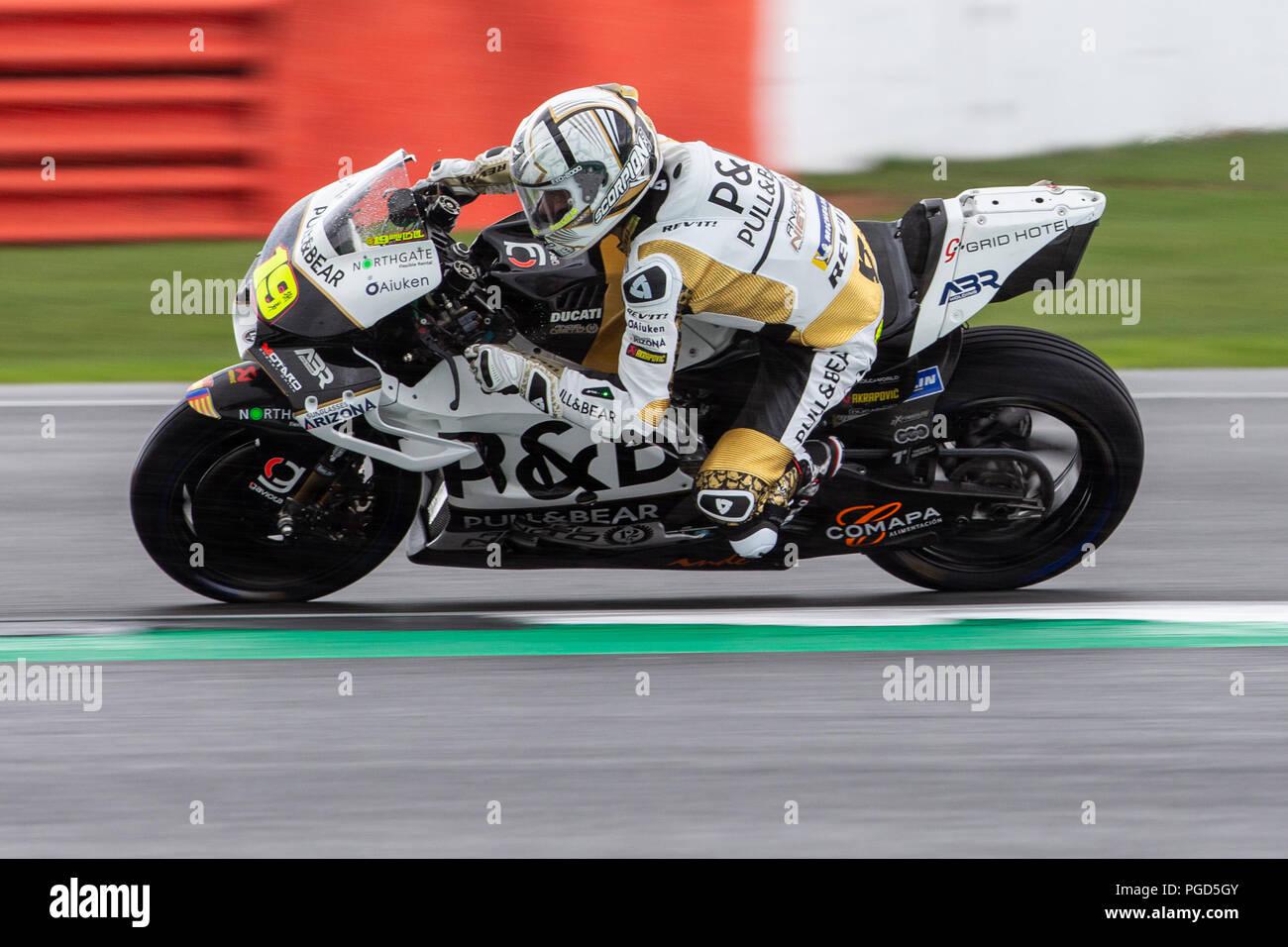 Silverstone Race Circuit Northamptonshire Uk 25th Aug 2018