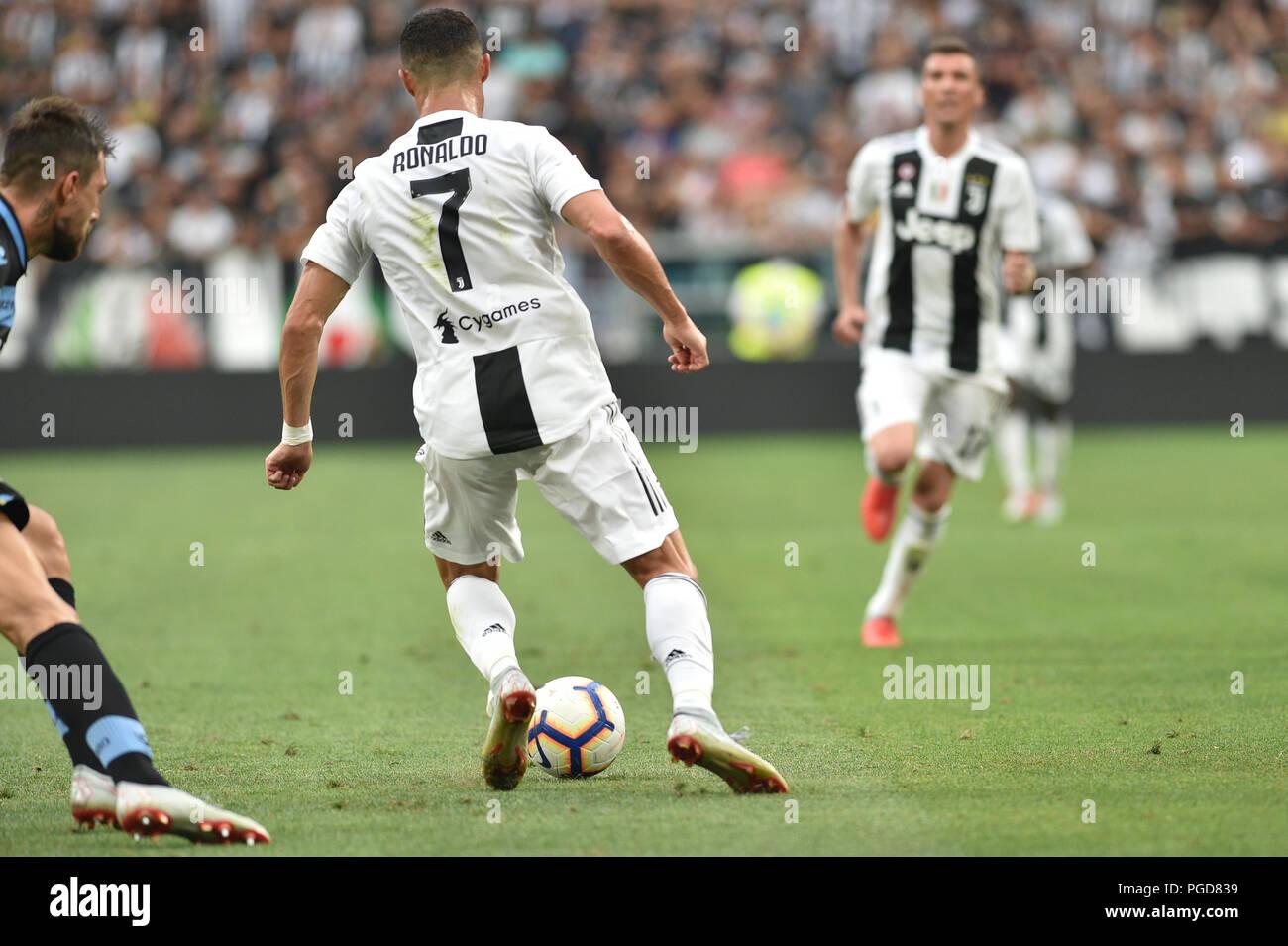 Cristiano Ronaldo Juventus 2018 Stock Photos & Cristiano ...