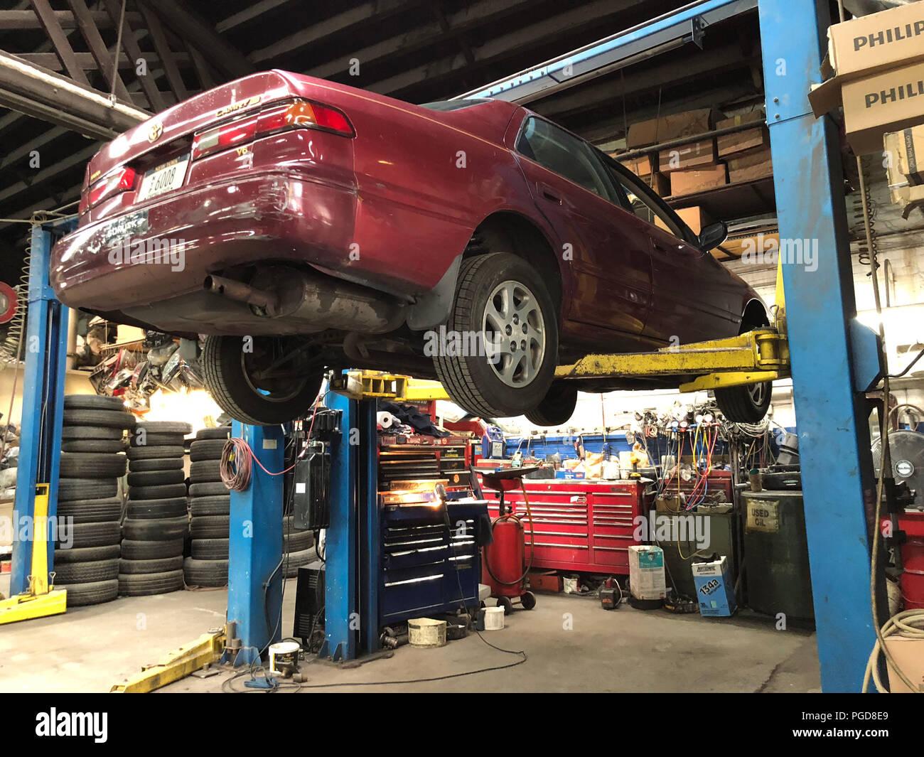 Geico Repair Shops Near Me >> New York New York Usa 25th Aug 2018 Sama A A S Brooklyn New