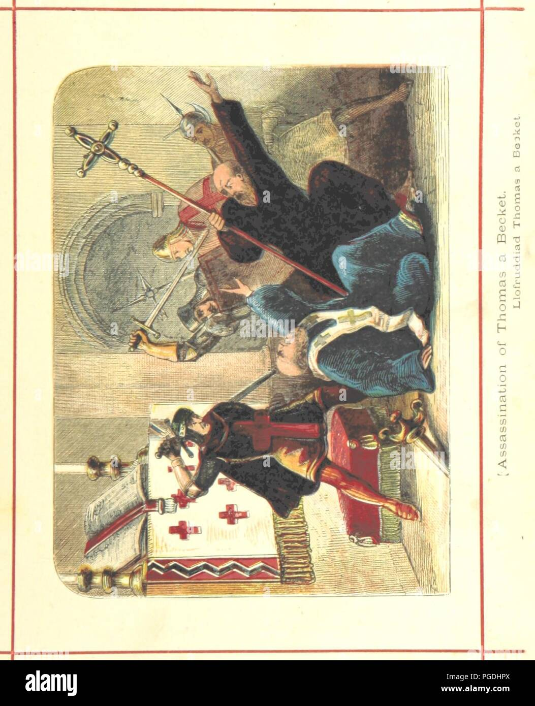 Image  from page 125 of 'Hanes Prydain Fawr o'r cyfnod boreuaf hyd yr amser presenol, etc. [With plates.]' . - Stock Image