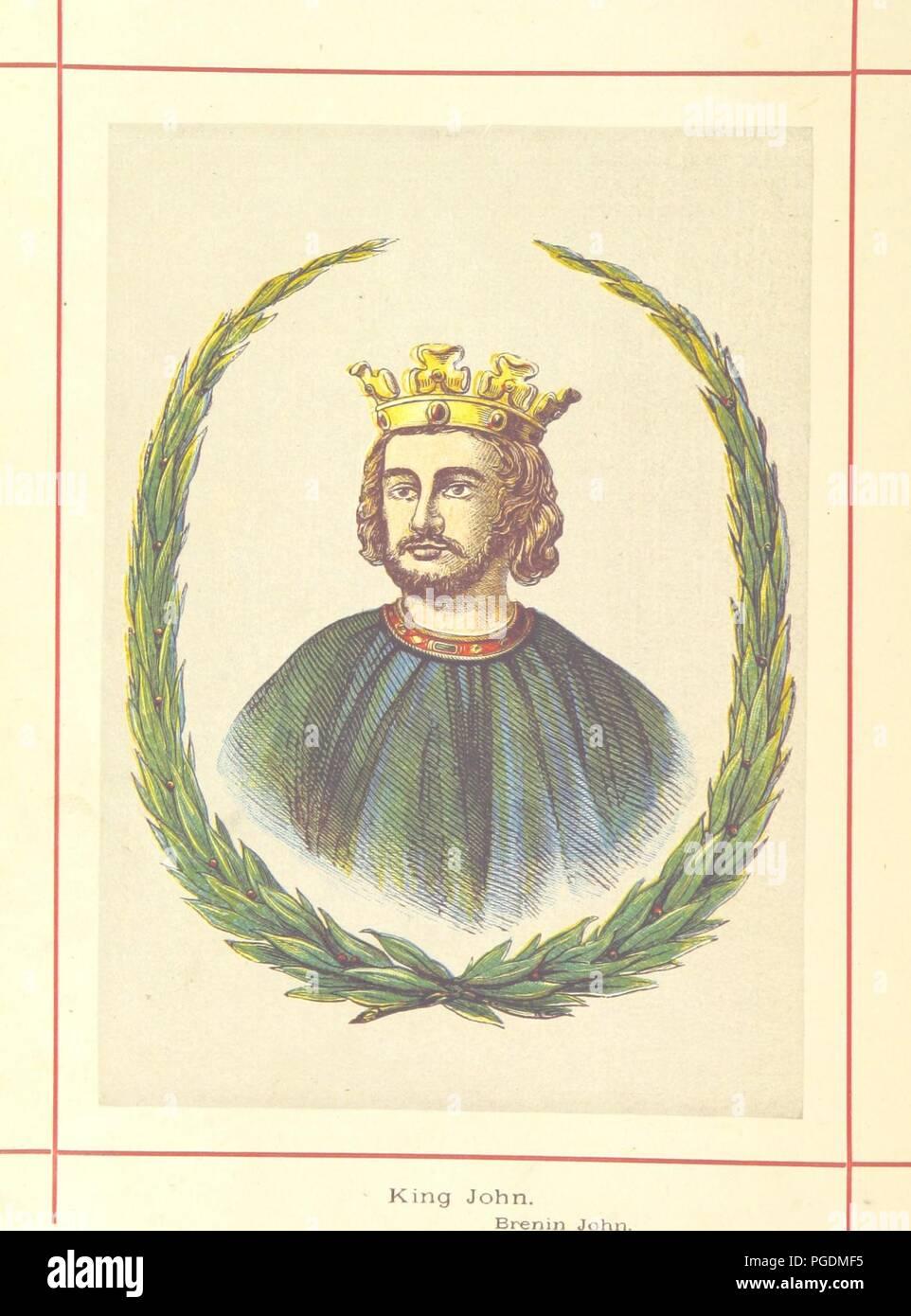 Image  from page 174 of 'Hanes Prydain Fawr o'r cyfnod boreuaf hyd yr amser presenol, etc. [With plates.]' . - Stock Image