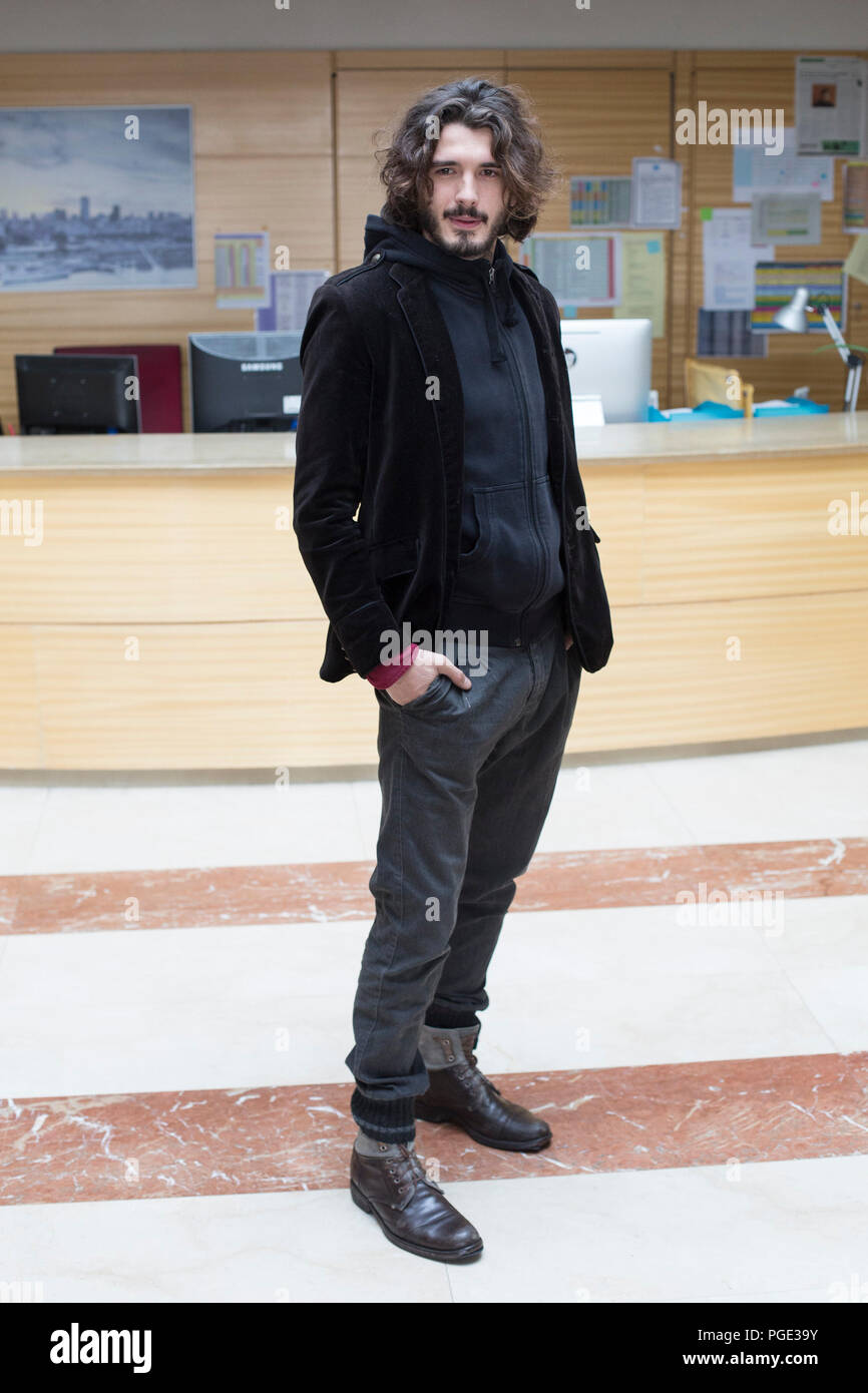 Spanish actor Yon Gonzalez. Stock Photo