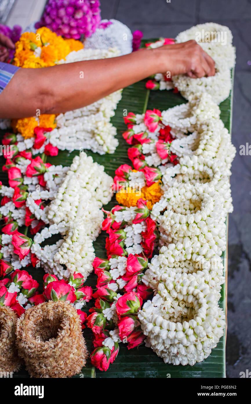 Fresh Flower Garland Stock Photos Fresh Flower Garland Stock