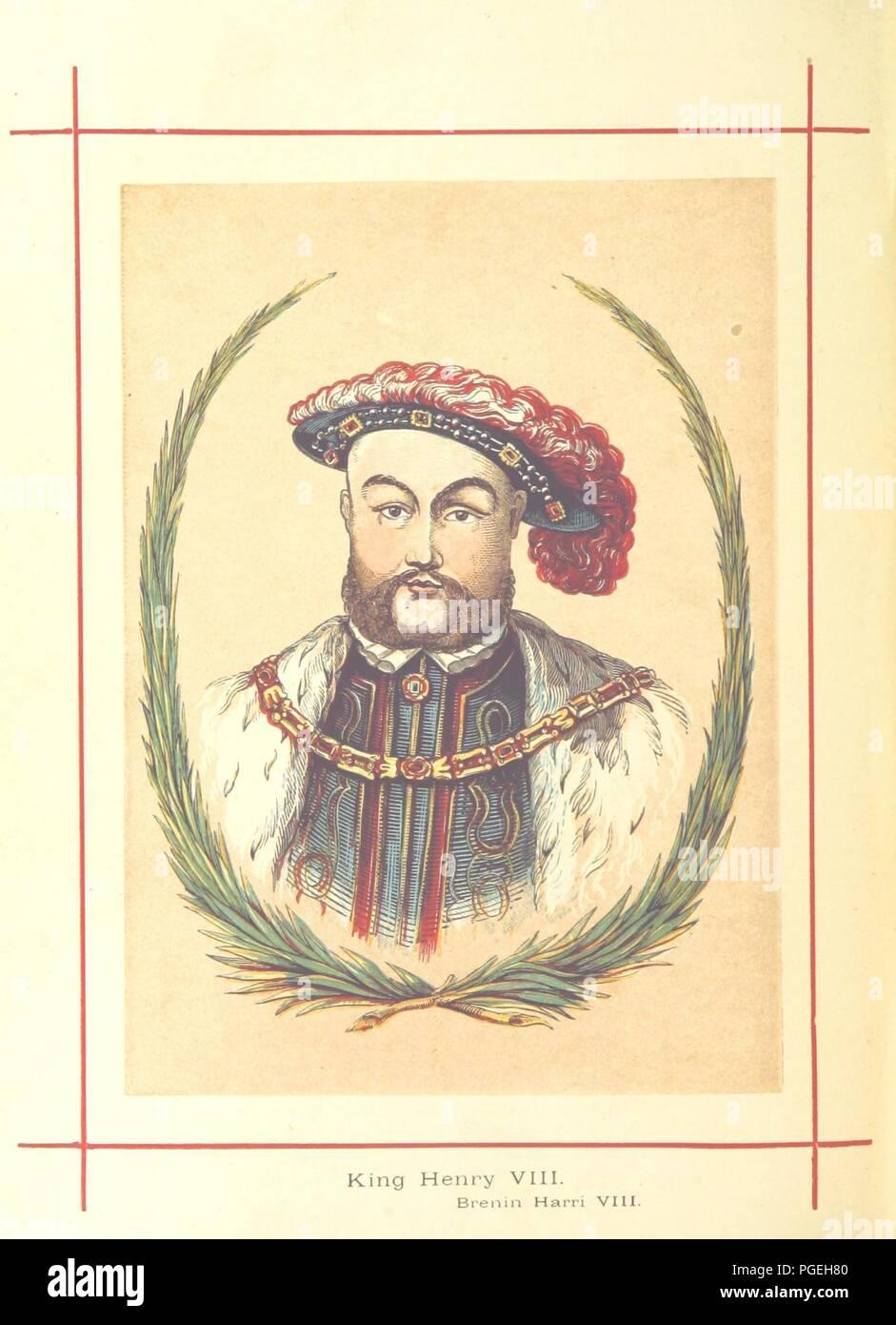 Image  from page 576 of 'Hanes Prydain Fawr o'r cyfnod boreuaf hyd yr amser presenol, etc. [With plates.]' . - Stock Image