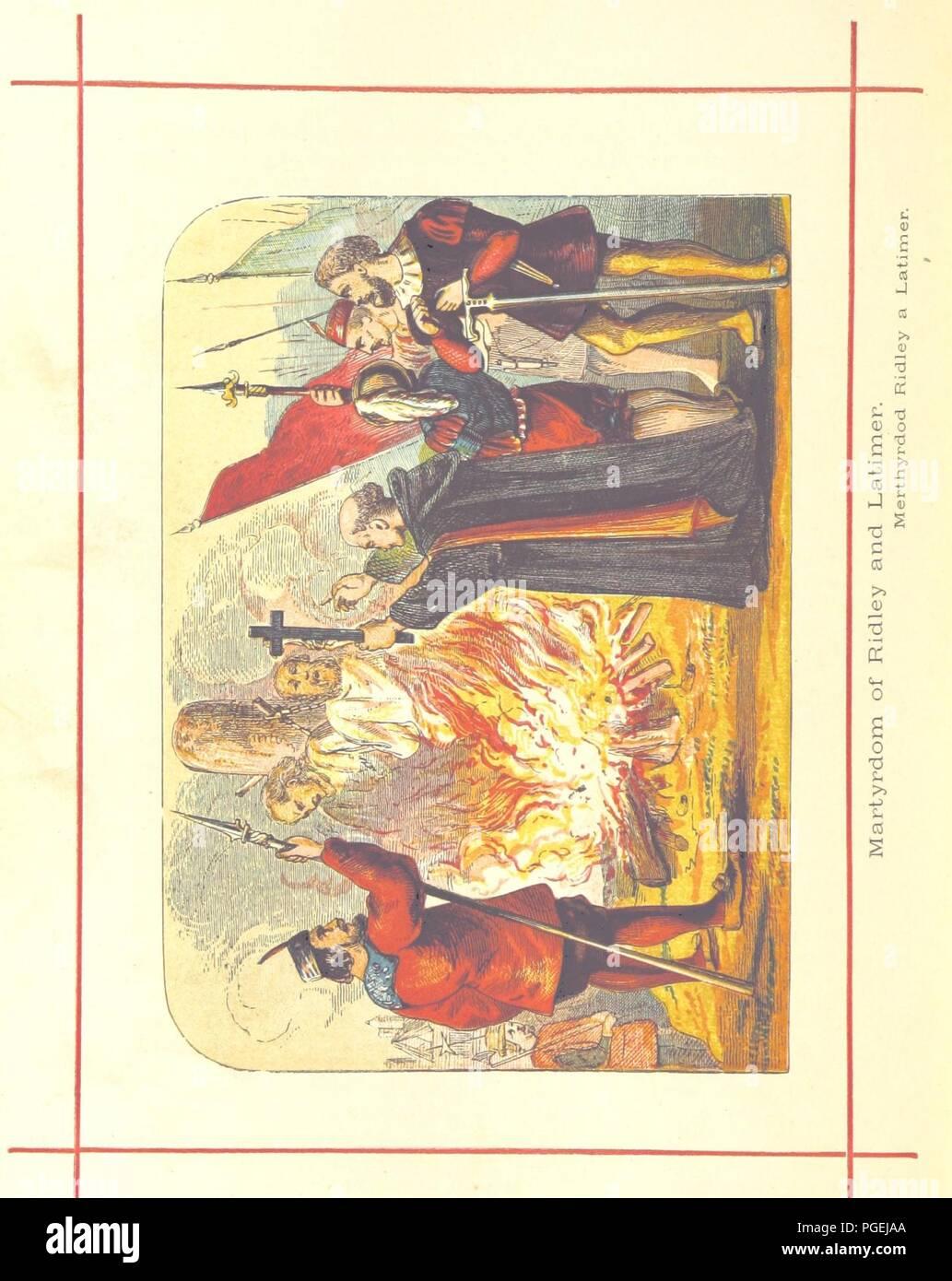Image  from page 708 of 'Hanes Prydain Fawr o'r cyfnod boreuaf hyd yr amser presenol, etc. [With plates.]' . - Stock Image