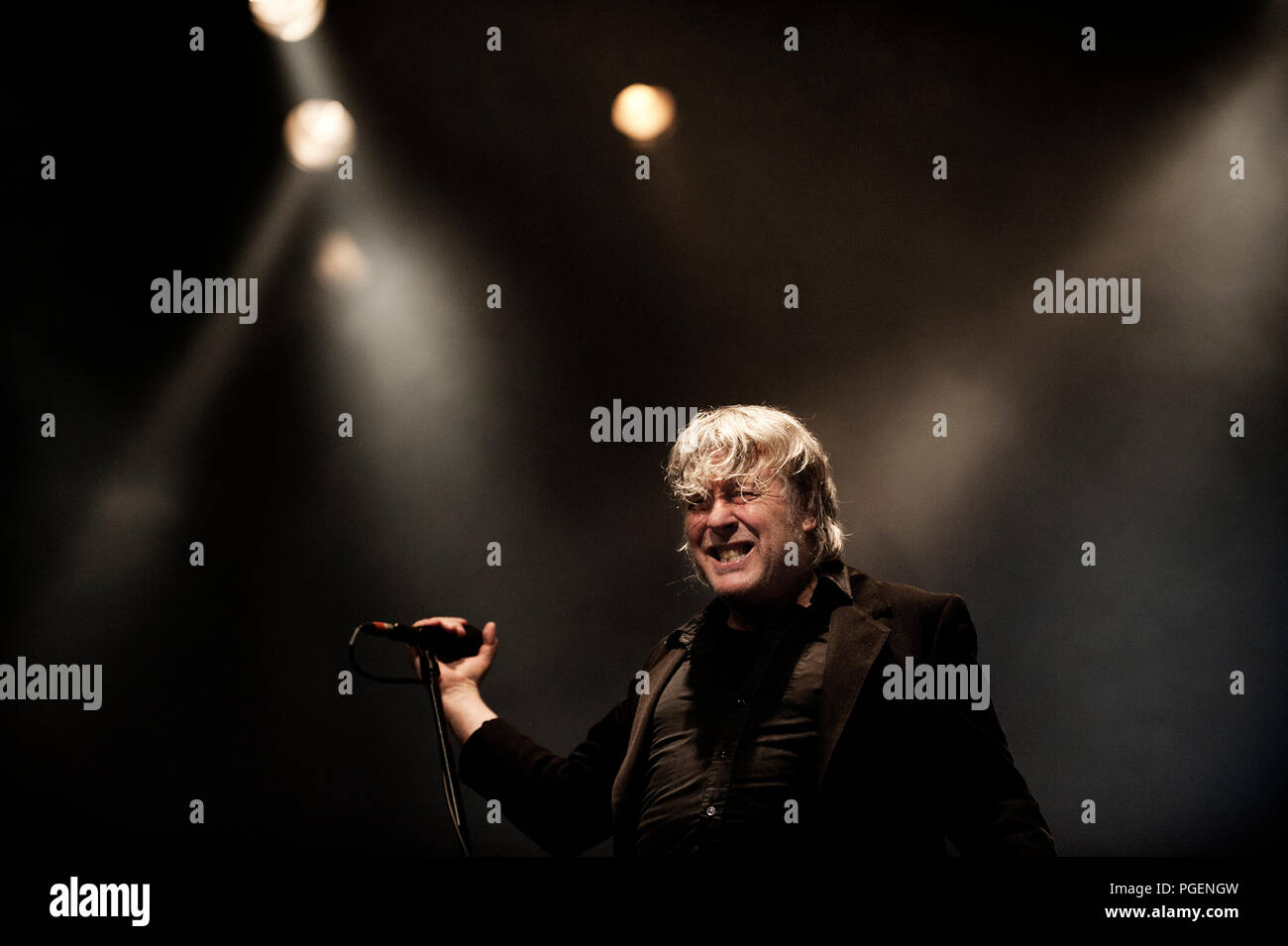 Concert Of The Belgian Rock Singer Arno Celebrating His 65th Birthday In Birth Town Ostend 22 05 2014