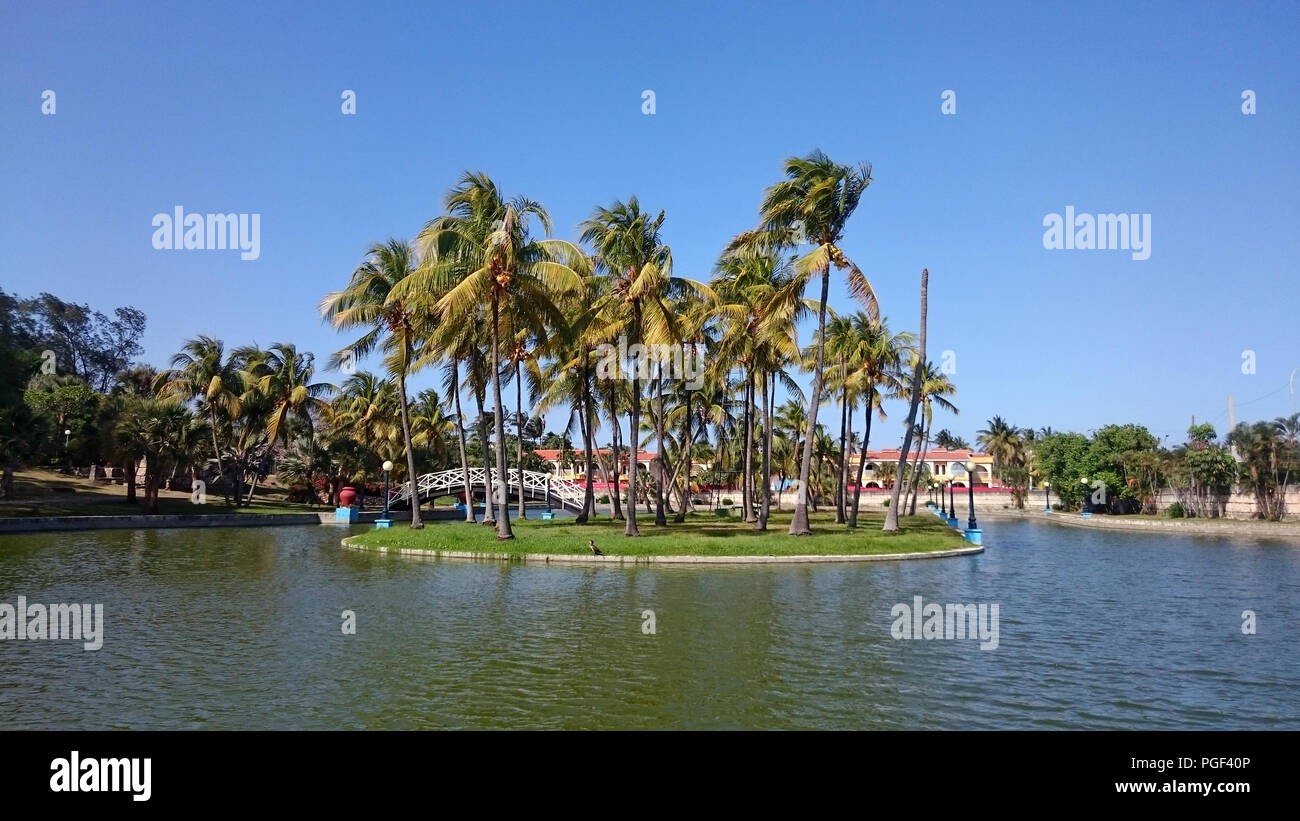 Beautiful cuban Landscape - Stock Image