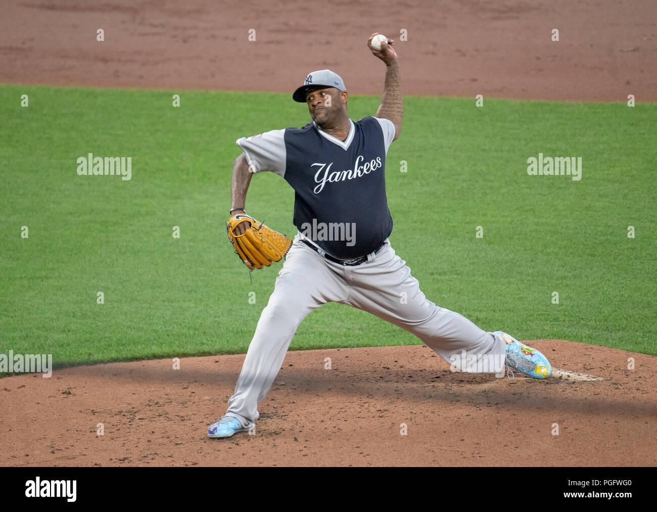 1223fe4b9 New York Yankees Cc Sabathia Stock Photos   New York Yankees Cc ...