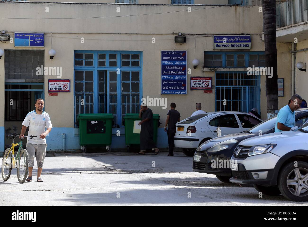 Algiers  26th Aug, 2018  Photo taken on Aug  26, 2018 shows the