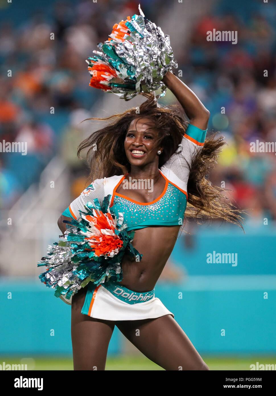 Dolphins Cheerleader Stock Photos & Dolphins Cheerleader Stock ...