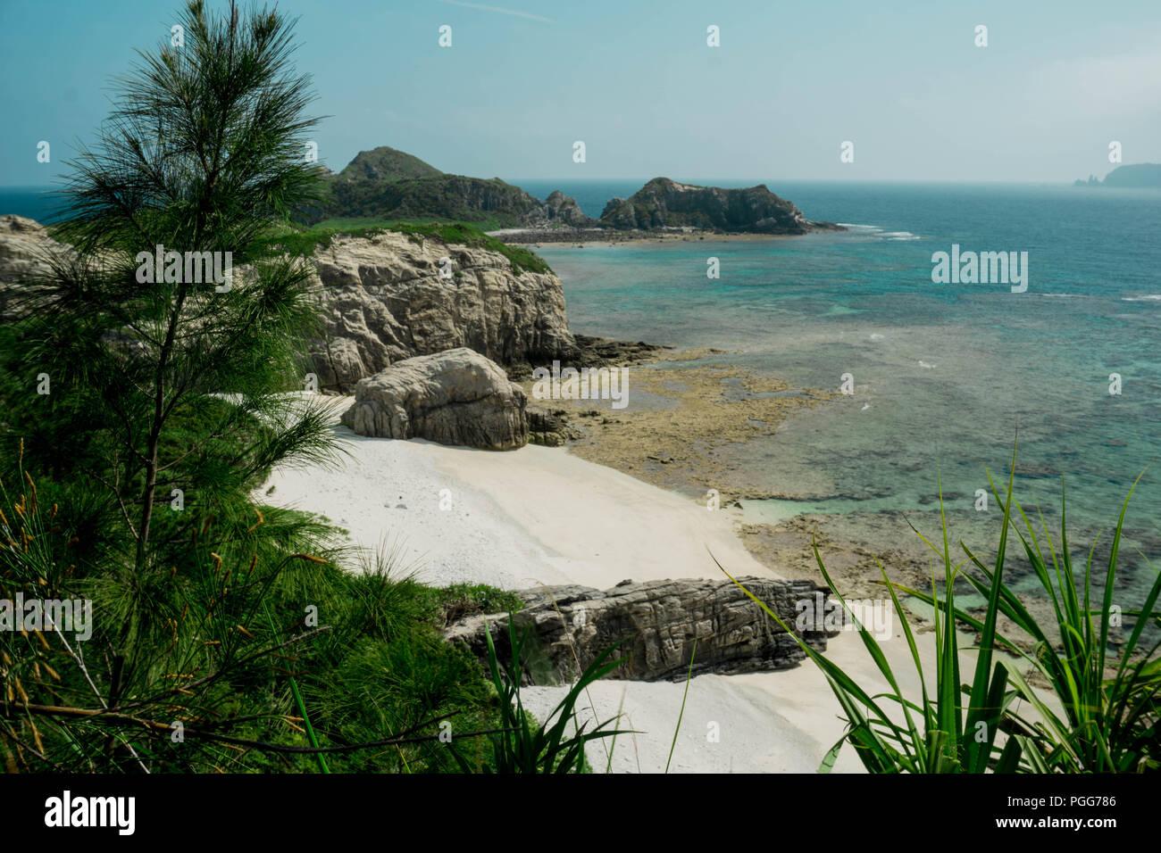 Insel Akajima, Okinawa - Stock Image