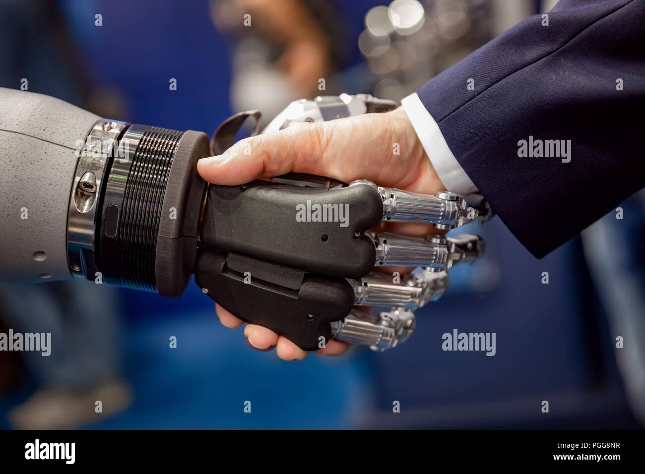 Human Robot Interaction Stock Photos & Human Robot Interaction Stock