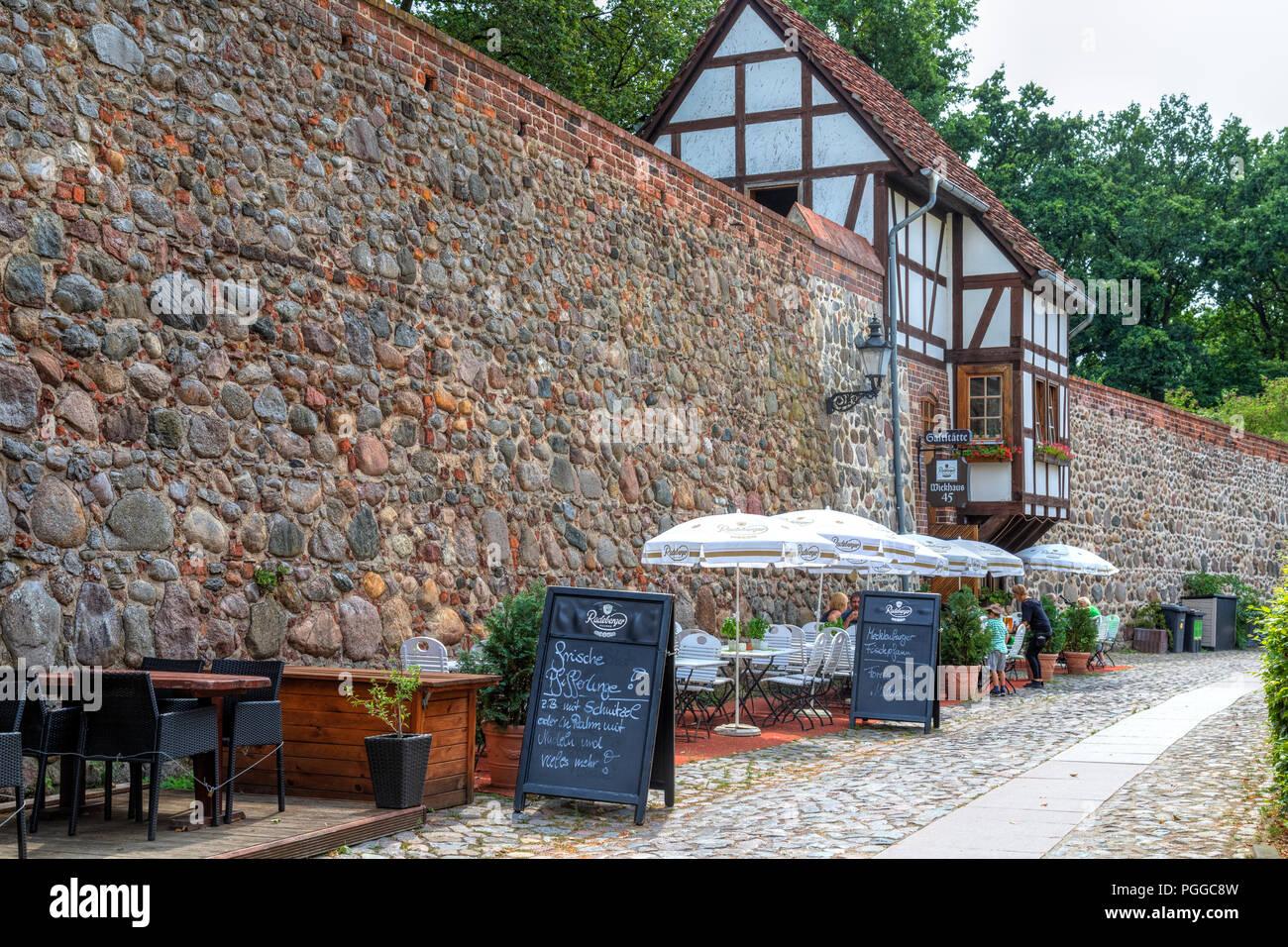 Neubrandenburg, old city, Mecklenburg-Vorpommern, Germany, Europe - Stock Image
