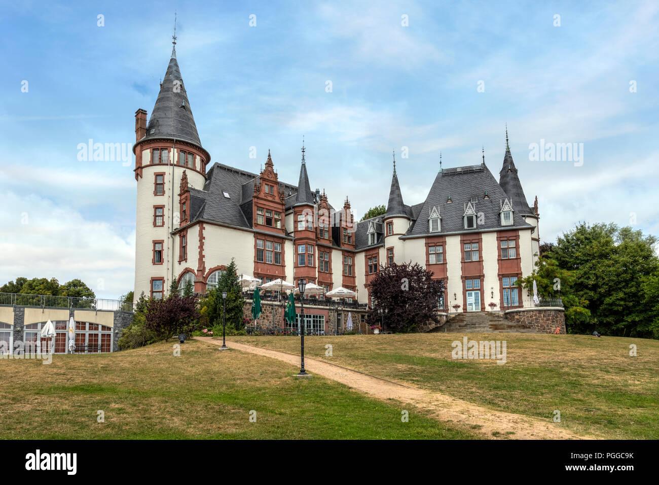 Schloss Klinik, Waren an der Müritz, Mecklenburg-Vorpommern, Germany, Europe - Stock Image