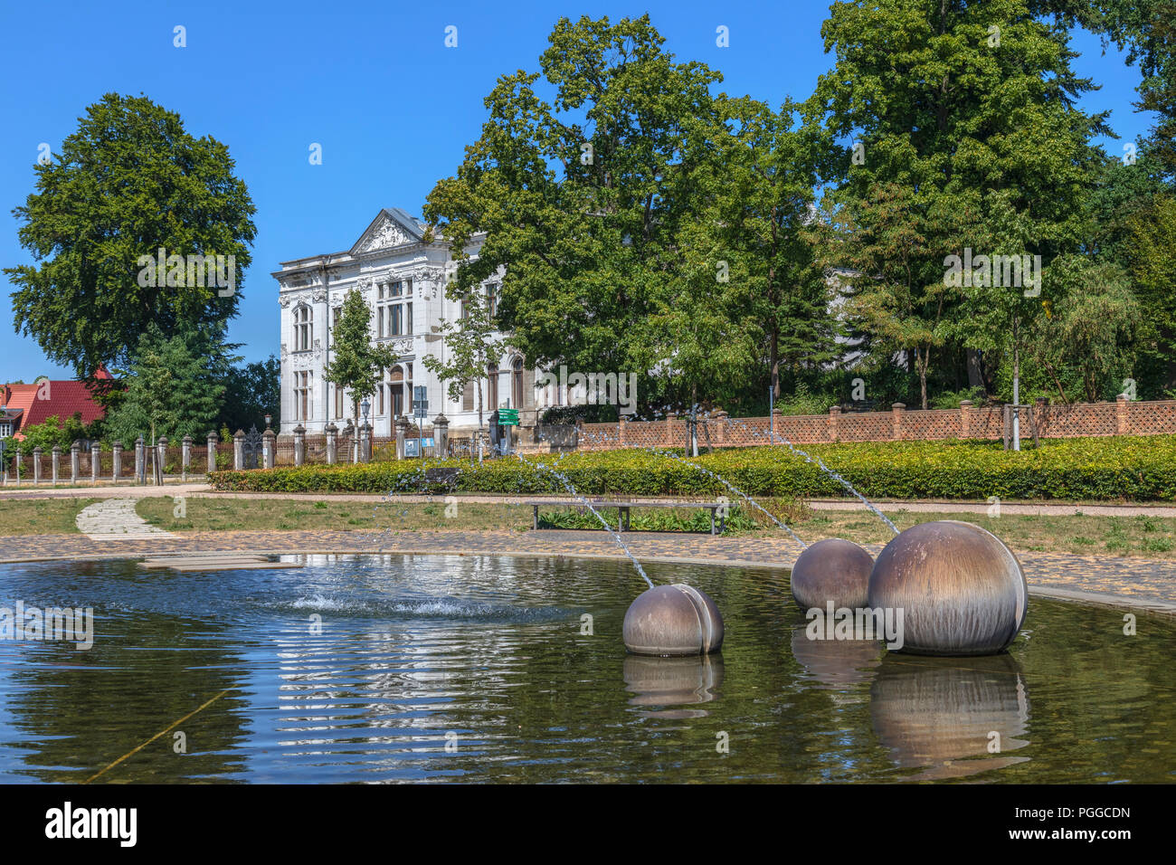 Neustrelitz, Mecklenburg-Vorpommern, Germany, Europe - Stock Image