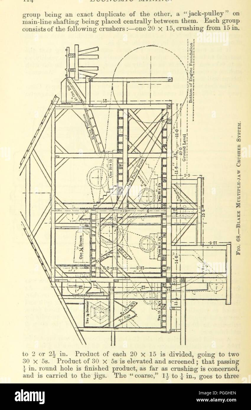 Metallurgist Stock Photos Images Alamy Jaw Crusher Diagram Free Download Wiring Schematic Image From Page 146 Of Economic Mining A Practical Handbook For The Miner