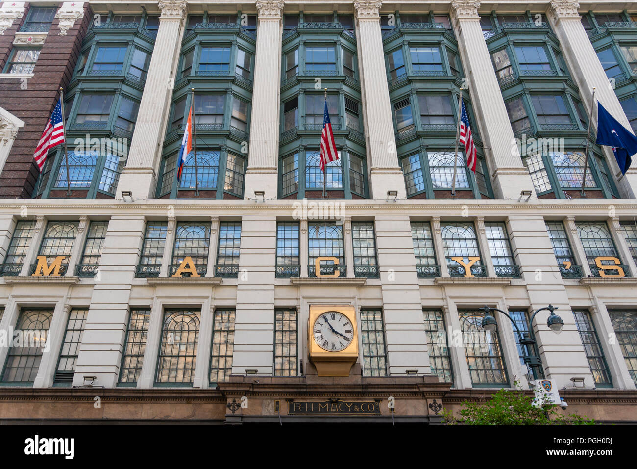 Macy's department store in New York City - Stock Image