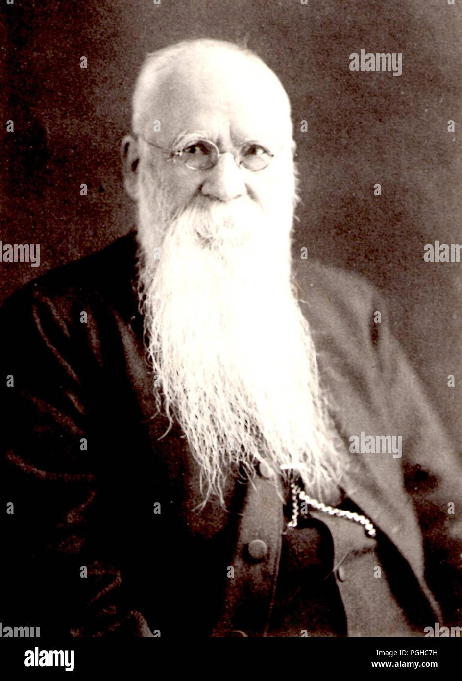 Archdeacon John Batchelor, (1855 – 1944) was an Anglican English missionary to the Ainu people of Japan until 1941 - Stock Image