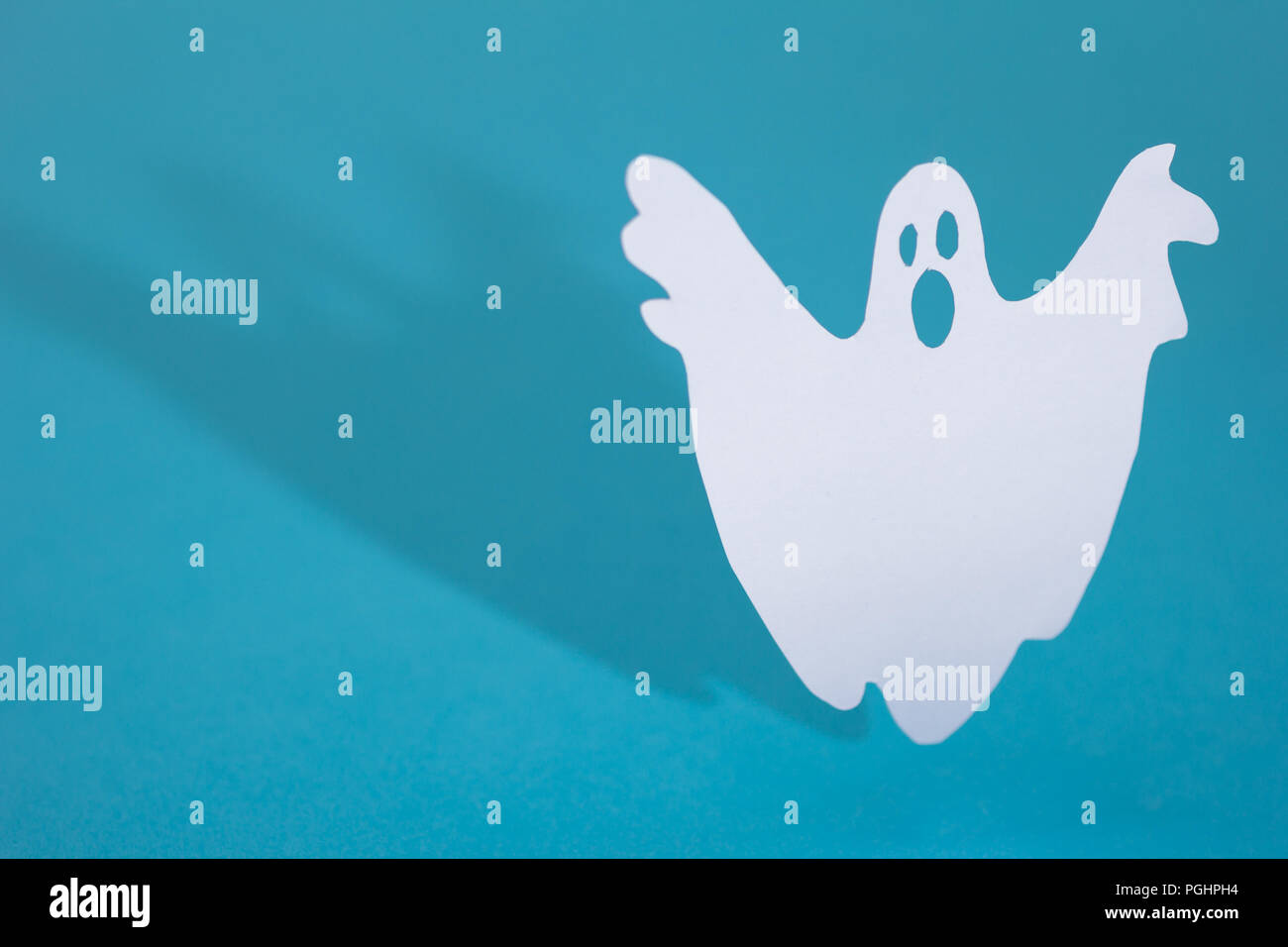 Halloween background decoration holiday concept  Funny ghost