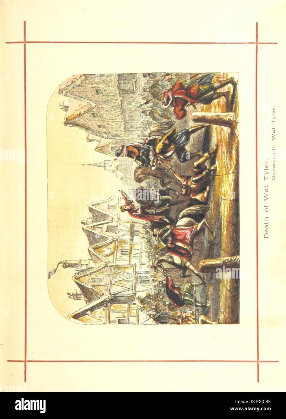 Image  from page 355 of 'Hanes Prydain Fawr o'r cyfnod boreuaf hyd yr amser presenol, etc. [With plates.]' . - Stock Image
