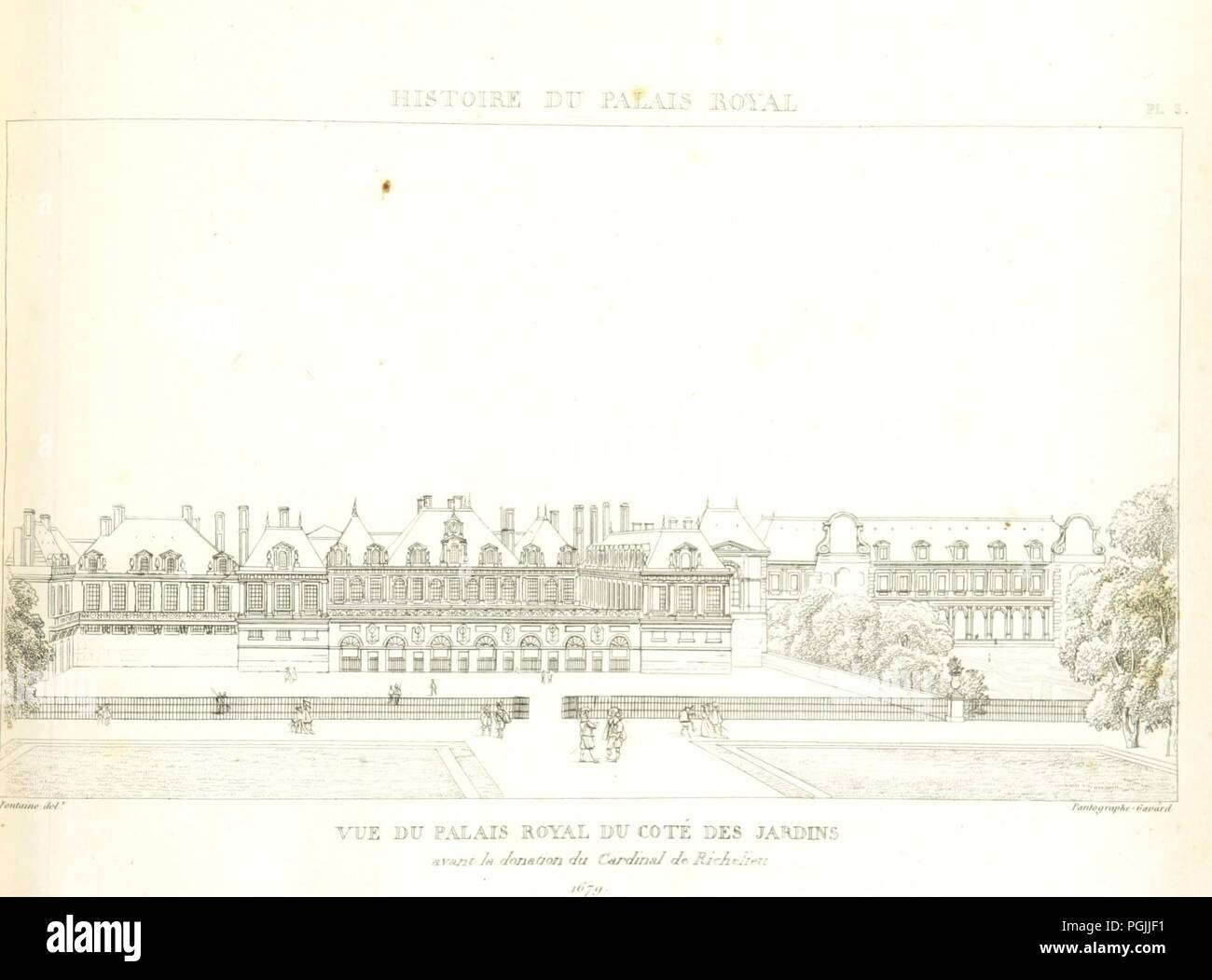 Image from page 57 of \'Histoire du Palais Royal. [By P. F. L. ...