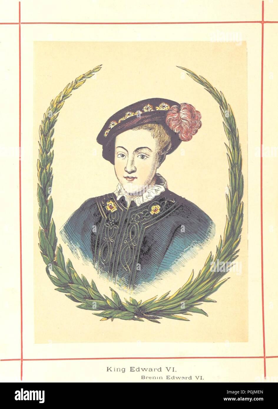 Image  from page 660 of 'Hanes Prydain Fawr o'r cyfnod boreuaf hyd yr amser presenol, etc. [With plates.]' . - Stock Image