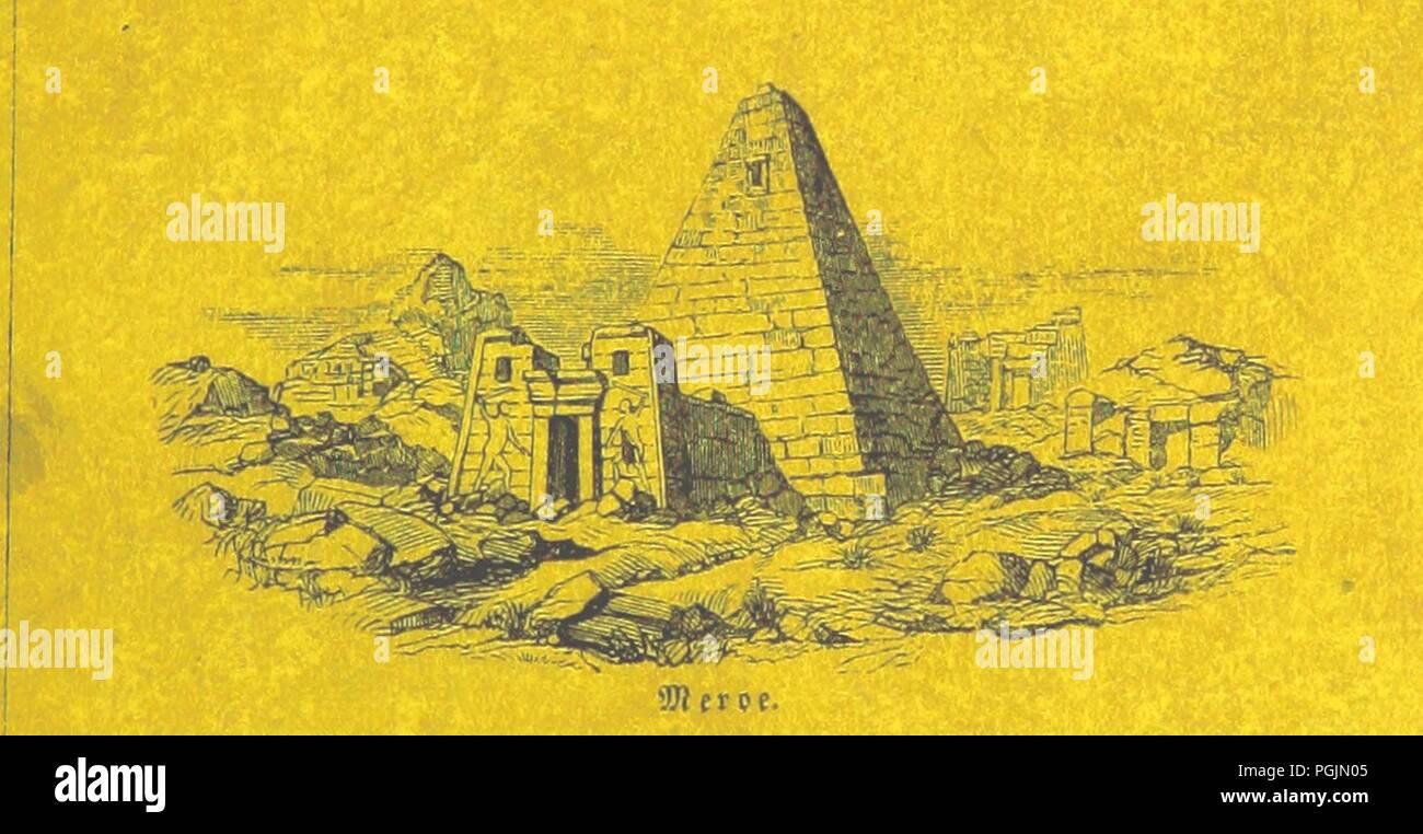 Image  from page 7 of 'Briefe aus Ægypten, Æthiopien, und der Halbinsel des Sinai, geschrieben in den Jahren 1842-1845, etc' . - Stock Image