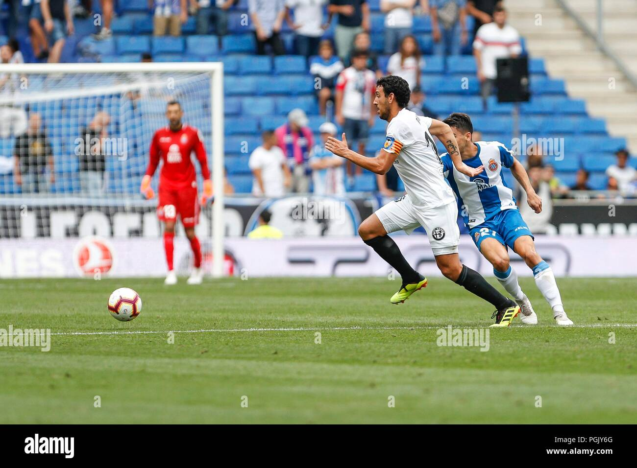 af23be963 SPAIN - 26th of August  Valencia CF midfielder Daniel Parejo (10) during the