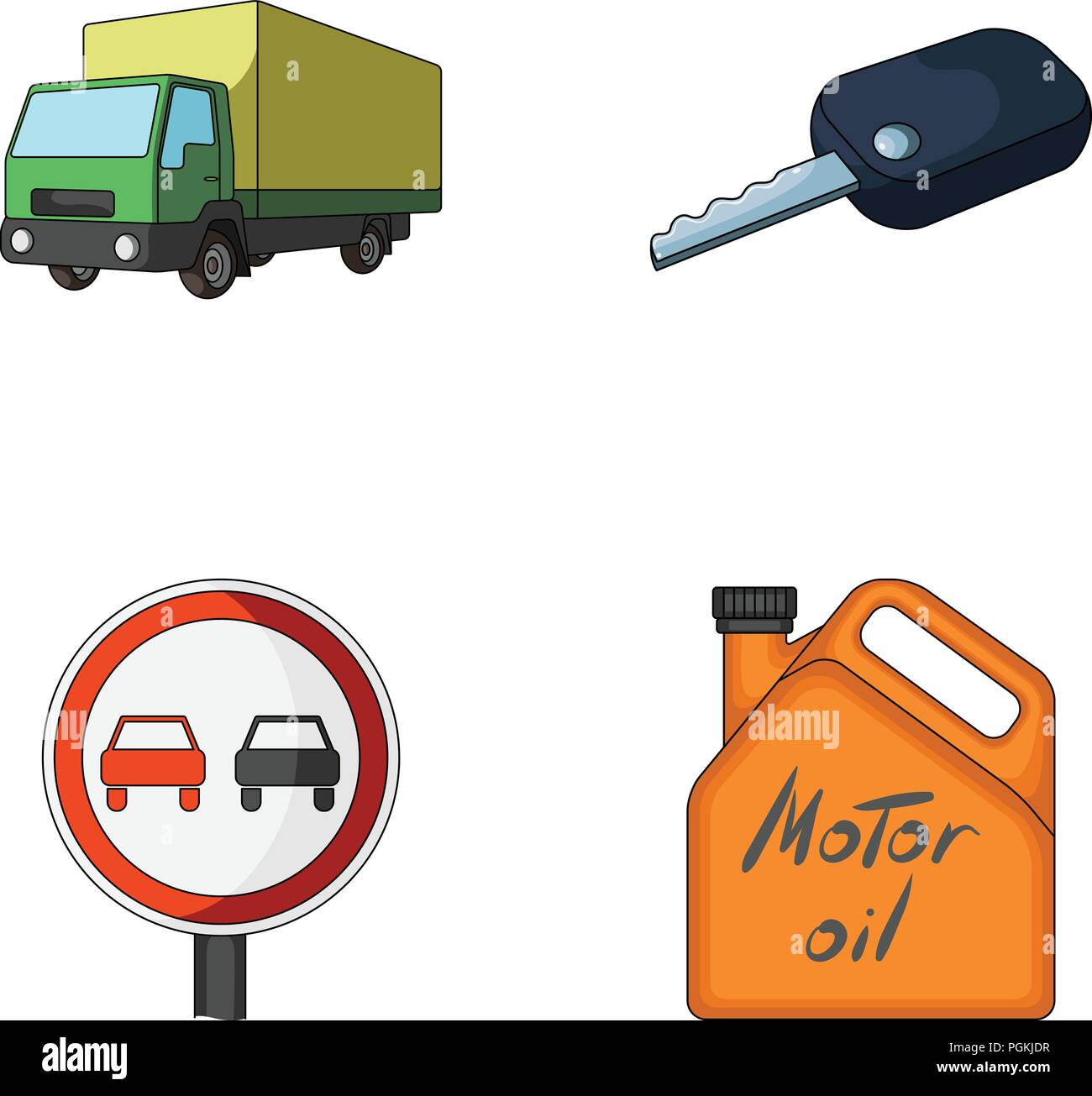 Tarpaulin Car Stock Vector Images Alamy