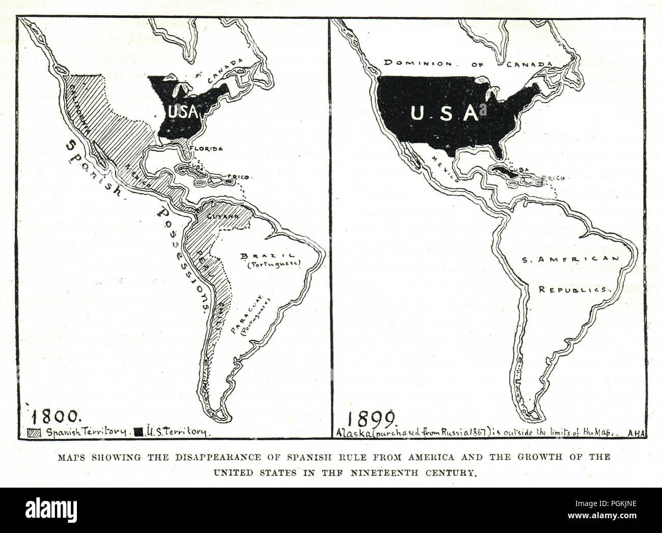 South America Map Spanish Stock Photos & South America Map ...